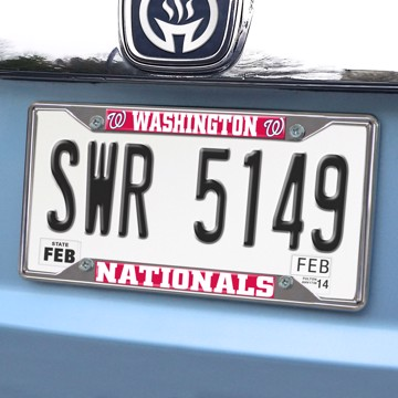 Picture of MLB - Washington Nationals License Plate Frame