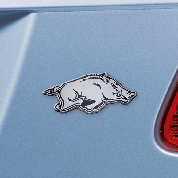 Arkansas Emblem - Chrome