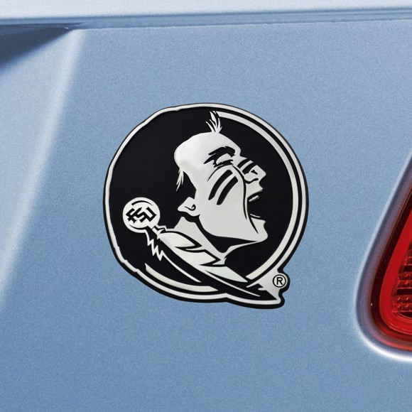 Picture of Florida State Emblem - Chrome