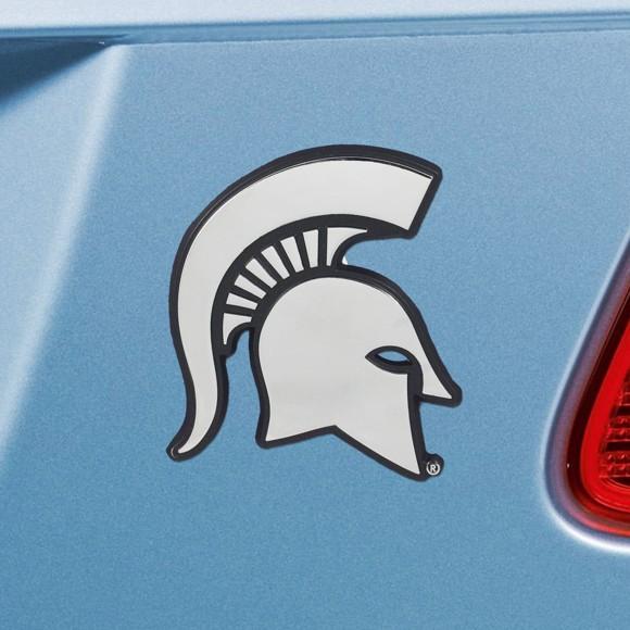 Picture of Michigan State Emblem - Chrome