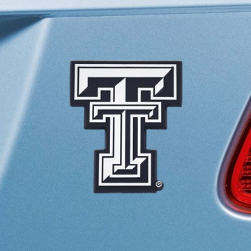 Picture of Texas Tech Emblem - Chrome
