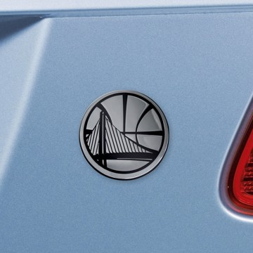 Picture of NBA - Golden State Warriors Emblem - Chrome