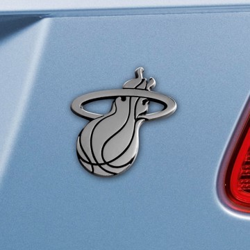 Picture of NBA - Miami Heat Emblem - Chrome