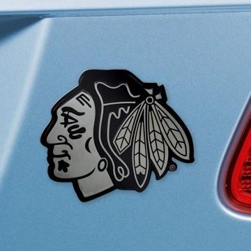 Picture of NHL - Chicago Blackhawks Emblem - Chrome