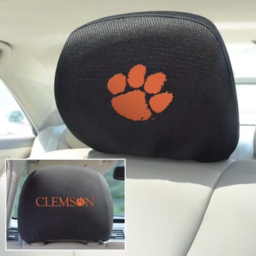 Picture of Clemson Headrest Cover Set