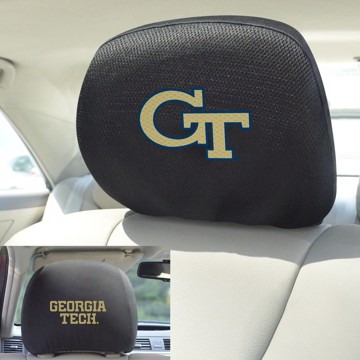 Picture of Georgia Tech Headrest Cover