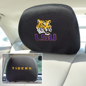 Picture of LSU Headrest Cover Set