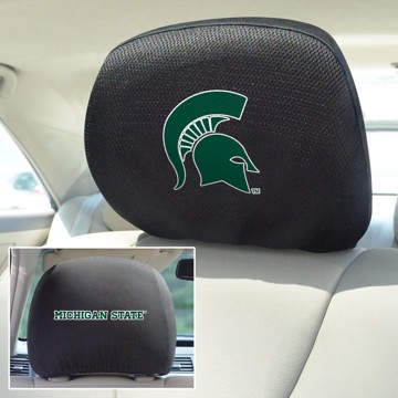 Picture of Michigan State Headrest Cover Set