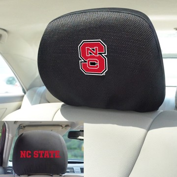 Picture of NC State Headrest Cover