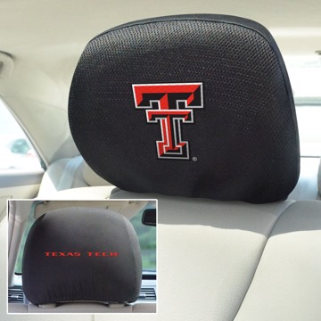 Picture of Texas Tech Headrest Cover Set