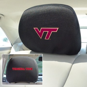Picture of Virginia Tech Headrest Cover Set