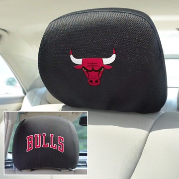 Picture of NBA - Chicago Bulls Headrest Cover Set
