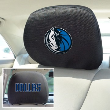 Picture of NBA - Dallas Mavericks Headrest Cover Set
