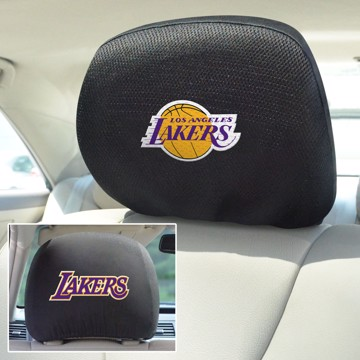 Picture of NBA - Los Angeles Lakers Headrest Cover Set