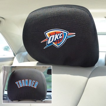 Picture of NBA - Oklahoma City Thunder Headrest Cover Set