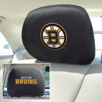 Picture of NHL - Boston Bruins Headrest Cover Set
