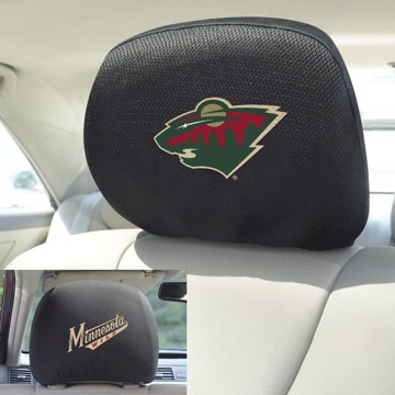 Picture of NHL - Minnesota Wild Headrest Cover Set