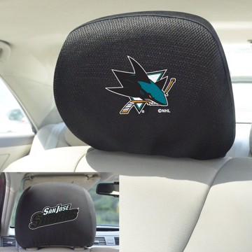 Picture of NHL - San Jose Sharks Headrest Cover Set