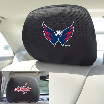 Picture of NHL - Washington Capitals Headrest Cover Set