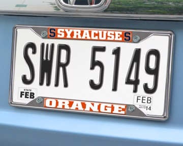 Picture of Syracuse License Plate Frame