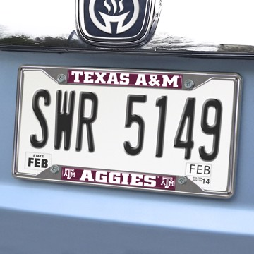 Picture of Texas A&M License Plate Frame