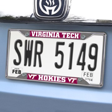 Picture of Virginia Tech License Plate Frame