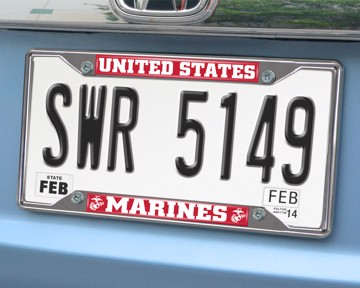 Picture of U.S. Marines License Plate Frame