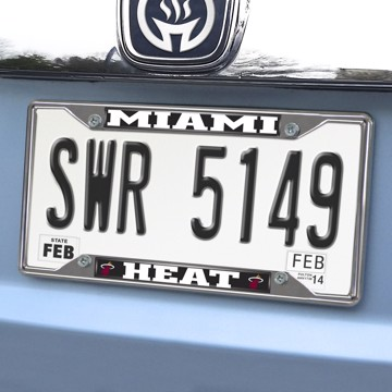 Picture of NBA - Miami Heat License Plate Frame