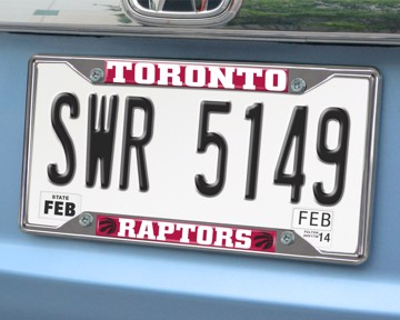 Picture of NBA - Toronto Raptors License Plate Frame