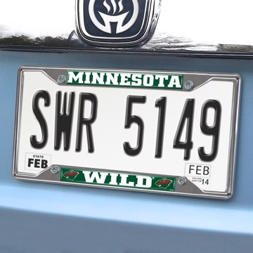Picture of NHL - Minnesota Wild License Plate Frame