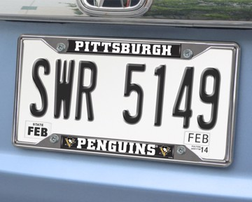 Picture of NHL - Pittsburgh Penguins License Plate Frame