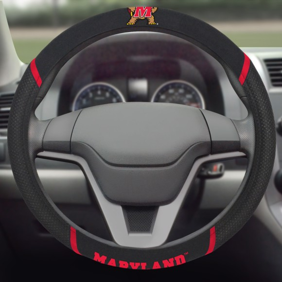 Picture of Maryland Steering Wheel Cover