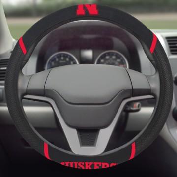 Picture of Nebraska Steering Wheel Cover