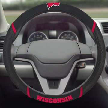 Picture of Wisconsin Steering Wheel Cover