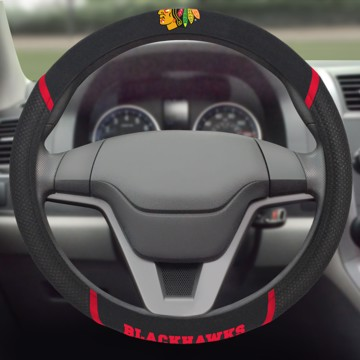 Picture of NHL - Chicago Blackhawks Steering Wheel Cover