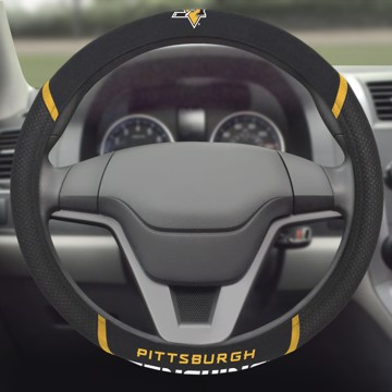 Picture of NHL - Pittsburgh Penguins Steering Wheel Cover