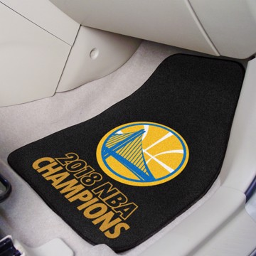 Picture of NBA - Golden State Warriors 2018 NBA Finals Champions Carpet Car Mat Set