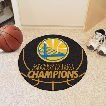 Picture of NBA - Golden State Warriors 2018 NBA Finals Champions Basketball Mat