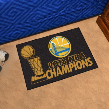 Picture of NBA - Golden State Warriors 2018 NBA Finals Champions Starter Mat