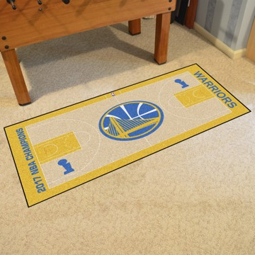 Picture of NBA - Golden State Warriors 2017 NBA Finals Champions NBA Court Large Runner