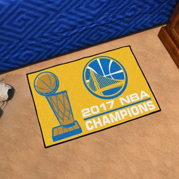 Picture of NBA - Golden State Warriors 2017 NBA Finals Champions Starter Mat