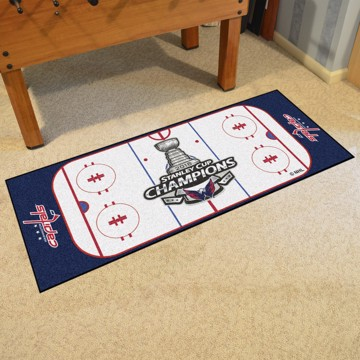 Picture of NHL - Washington Capitals 2018 Stanley Cup Champions Rink Runner