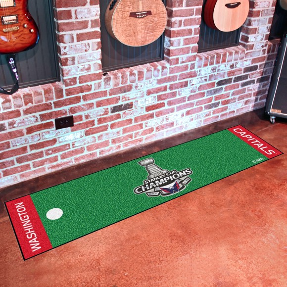 Picture of NHL - Washington Capitals 2018 Stanley Cup Champions Putting Green Mat