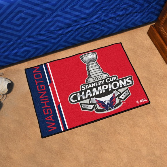 Picture of NHL - Washington Capitals 2018 Stanley Cup Champions Starter Mat