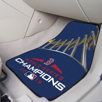 Picture of MLB - Boston Red Sox 2018 World Series Champions Carpet Car Mat Set