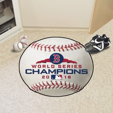 Picture of MLB - Boston Red Sox 2018 World Series Champions Baseball Mat