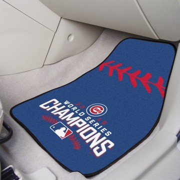 Picture of MLB - Chicago Cubs 2016 World Series Champions Carpet Car Mat Set