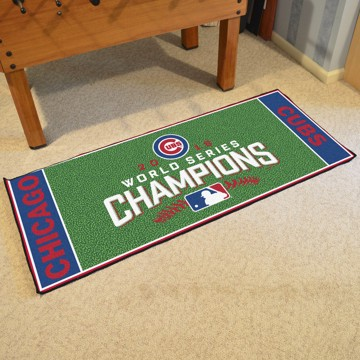 Picture of MLB - Chicago Cubs 2016 World Series Champions Baseball Field Runner