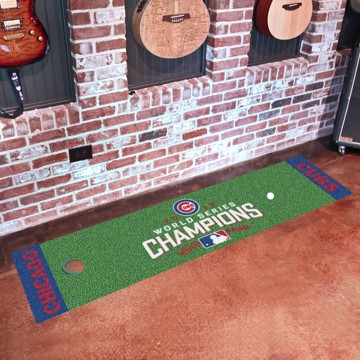Picture of MLB - Chicago Cubs 2016 World Series Champions Putting Green Mat