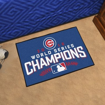 Picture of MLB - Chicago Cubs 2016 World Series Champions Starter Mat
